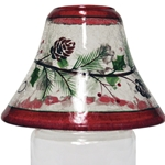 Woodland Winterberries Candle Shade