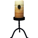 Black Small 6 Inch Pillar Stand