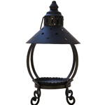 Black Star Candle Lantern