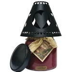 Heart Tin Candle Shade