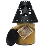 Star Tin Candle Shade