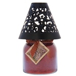 Victorian Candle Shade Black