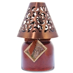 Victorian Candle Shade Copper